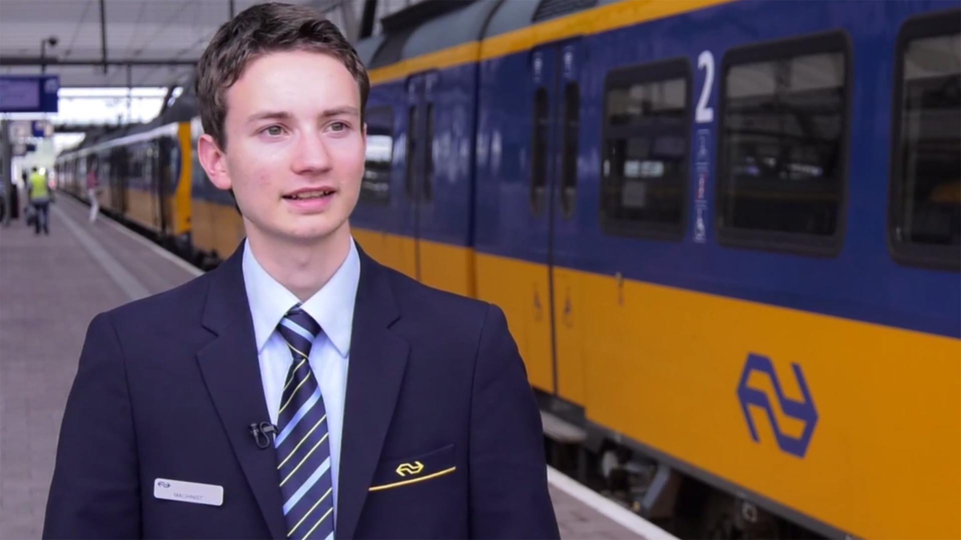 De jongste machinist van Nederland