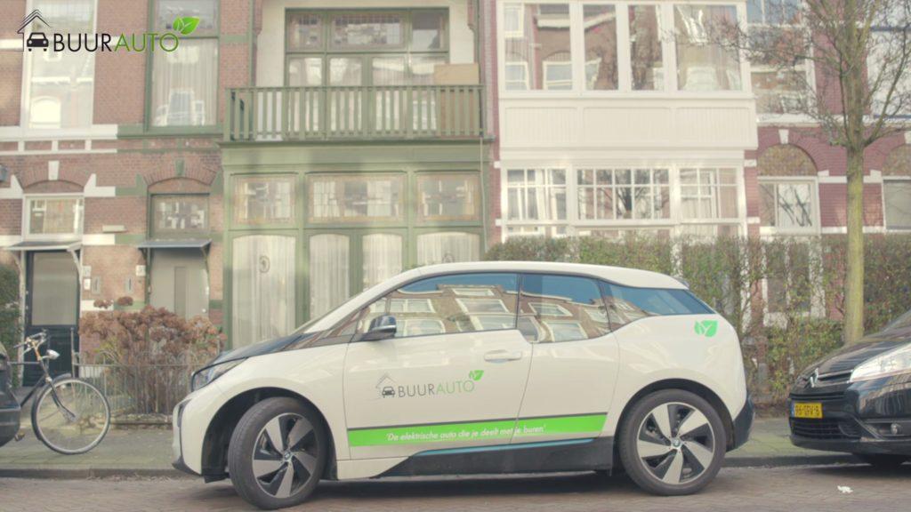 Elektrische auto delen met buren, hoe werkt dat?