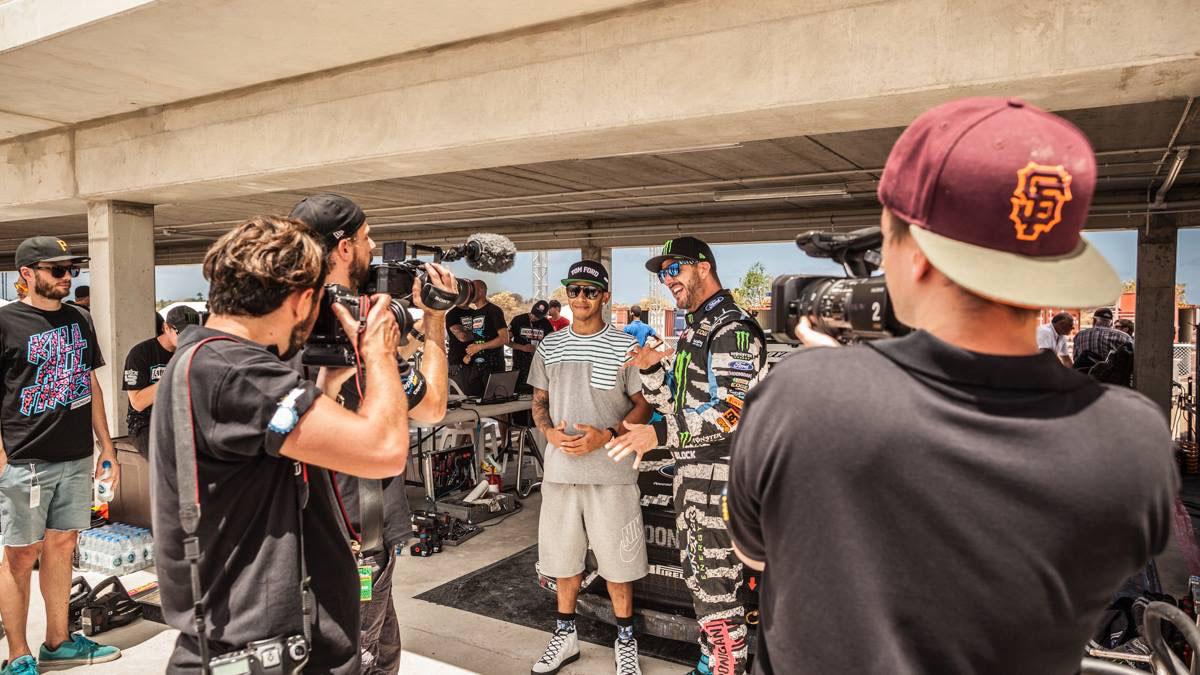 Top Gear Barbados Ken Block Lewis Hamilton